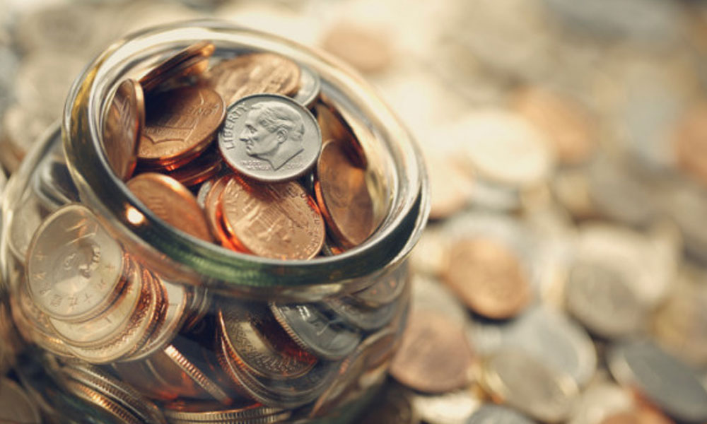 1 in 3 small businesses offer healthcare - jar of change