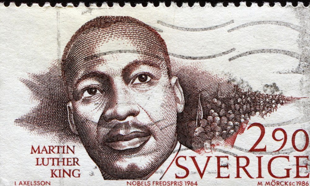 5 entrepreneurial lessons from martin luther king jr - 2009 Martin Luther King Jr stamp