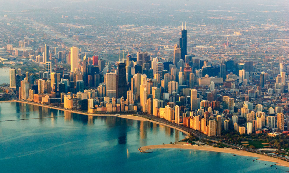 how to start a small business in Illinois - Chicago Illinois skyline