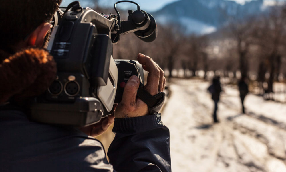 media and communication small business ideas - man filming