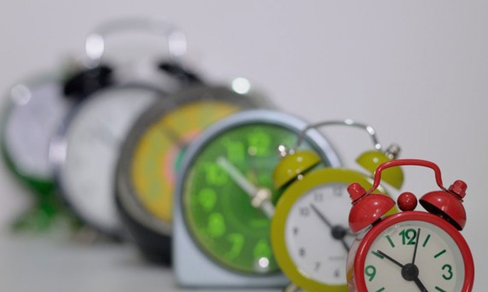 new proposed overtime rules - a row of clocks