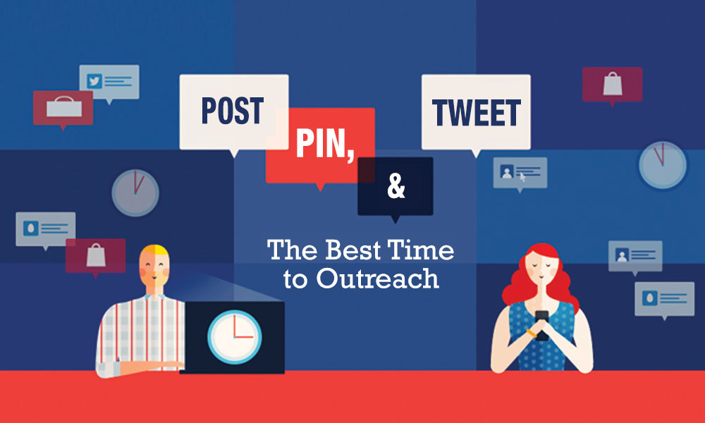 Post pin tweet outreach - the best time to reach out