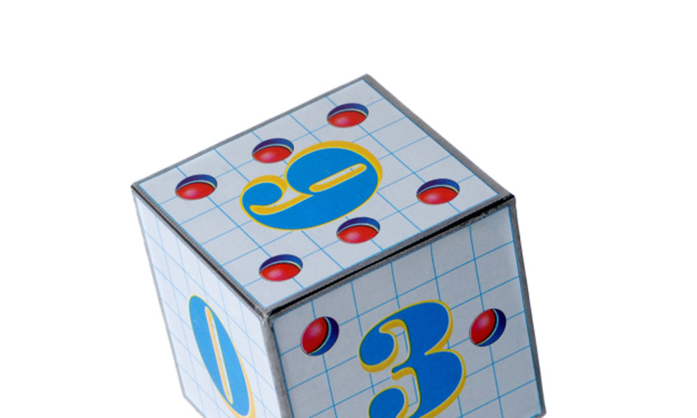 the 1-2-3 on nanny taxes - a cube with numbers