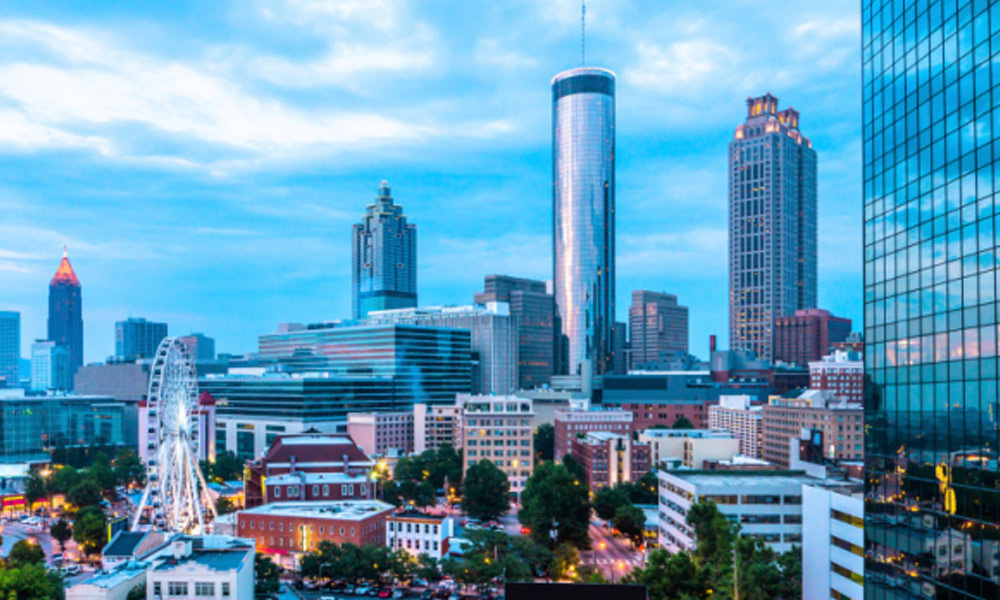 the story behind Atlanta's tech boom - Atlanta skyline