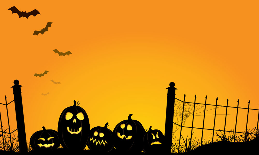 what scares small business owners - Halloween landscape